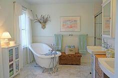 This this cute little bath room!