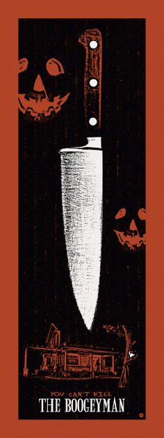 Michael Myers in Halloween (1978)- You can't kill the boogeyman (gif)