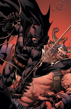 BATMAN: THE DARK KNIGHT #7 - Batman Vs Bane by David Finch