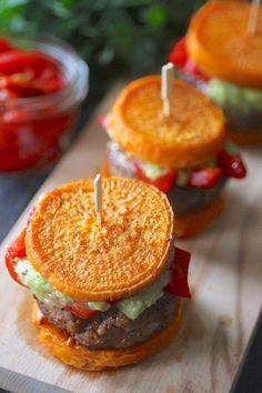Grain Free Turkey Burger Sliders