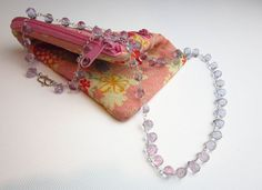 Pale Lilac Quartz Briolette Necklace on Sterling by TampicoJewelry