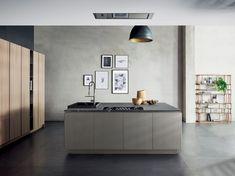 Lacquered linear kitchen MIUCCIA   Kitchen by TM Italia Cucine ...
