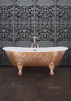 Traditional roll top baths made from copper, cast iron and brass, complemented with our range of bathroom accessories. Cast Iron Bath, Copper Bath, Roll Top Bath, Contemporary Baths, Clawfoot Bathtub, Bathroom Accessories, Bathtubs, Traditional, Interior Design