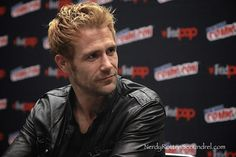 Got to chat with MATT RYAN at New York Comic Con in the CONSTANTINE press room.