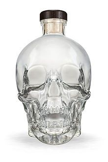 Crystal Head Vodka, awesome bottle, now available in every province in Canada!