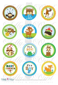 Hey, I found this really awesome Etsy listing at https://www.etsy.com/listing/110154962/boy-woodland-forest-animals-baby-shower