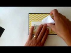 Stampin'Up Graduation Card with a Fun Fold Cap - YouTube