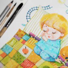Замальовки: Книжкове барвисте в процесі.