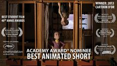 """www.headoverheels.tv  """"Of the animated shorts, [Head Over Heels is] the cleverest."""" -Stephen Holden, The New York Times  """"The attention to detail is staggering,…"""