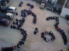 nice moment of revolution in tunisia <3