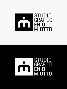 Studio Grafico Enio Miotto -new brand identity by Studio Miotto , via Behance