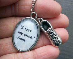 "Supernatural ""I lost my shoe"" Necklace"