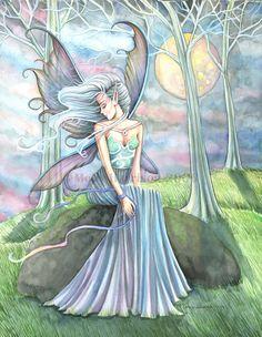 The Fairy Art and Fantasy Art of Molly Harrison:    Mystic