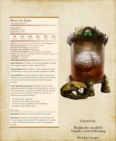 DnD Homebrew (Search results for: undead) Dungeons And Dragons Memes, Dungeons And Dragons Homebrew, Dnd Stats, Mind Flayer, Dnd 5e Homebrew, Pathfinder Rpg, Dnd Monsters, Fantasy Monster, Dnd Characters