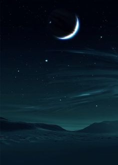 Moon Landscape by sterling_red