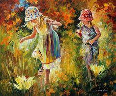 Sisters LEONID AFREMOV