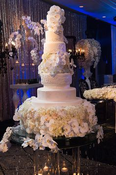 """Family and friends tend to have high expectations of a wedding day, but when everyone in the Chicagoland events industry expects to see the real """"wow"""". Extravagant Wedding Cakes, Elegant Wedding Cakes, Beautiful Wedding Cakes, Gorgeous Cakes, Wedding Cake Designs, Wedding Cake Toppers, Dream Wedding, Amazing Cakes, Diy Wedding"""