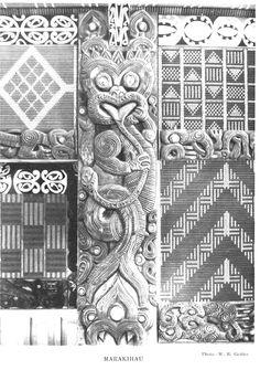 MARAKIHAU is the name of one kind of taniwha, the awesome monsters of Maori mythology