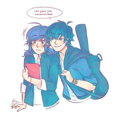 Highest Ranks: Lukanette / Luka / Adrian / Miraculous / Fanfiction - - - Marinette has caught the eye of the now famous musician and heartthr. Comics Ladybug, Meraculous Ladybug, Lady Bug, Luka Miraculous Ladybug, Marinette Ladybug, Super Anime, Fanart, Cat Noir, Wow Art