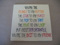 BFF Tile: Paint Your Own Pottery pinterest.com/yourefiredox