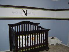 Blue Nursery sherwin williams respite
