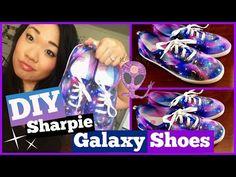 DIY: Sharpie Galaxy Shoes Tutorial