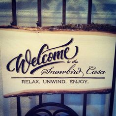 Wood Burned Welcome Sign Personalized by OCRusticCustoms on Etsy, $35.00