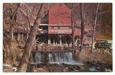 Vintage Postcard Aid Hodgson Mill Ava Missouri Old Car Water Fall West Plains | eBay