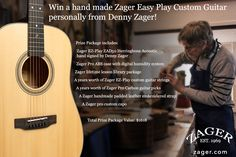 Zager Guitar Monthly Giveaway