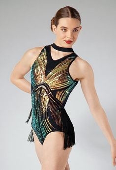 Jazz 5 with Miss Emily Jazz Costumes, Dance Leotards, Stretch Lace, Dance Outfits, Dance Wear, Sequins, Fashion Outfits, Clothes, Neck Collar