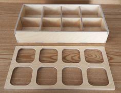 Tea box Birch plywood  #StyleOC