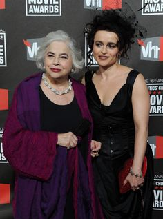 Helena Bonham Carter  With Her Mother Elena. You can see where HBC gets her quirky, but marvelous, sense of style.
