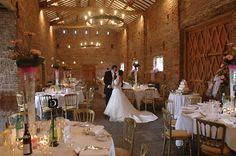 tithe barn wedding reception
