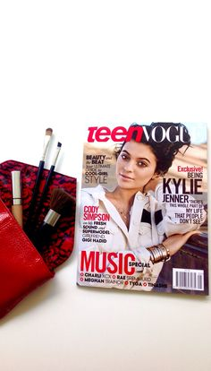 Teen Vogue, May 2015 - Kylie Jenner - See more: www.condenastinternational.com/shop www.instagram.com/condenastworldwidenews email: cnwwn@condenast.co.uk for enquiries