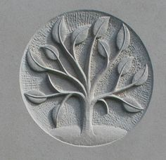 gravestone symbol of tree