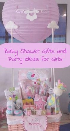 Baby Shower Gifts and Party Ideas for Girls