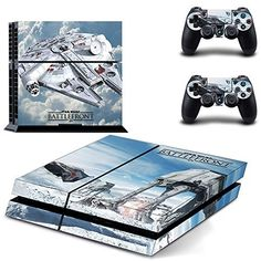 High quality graphics vinyl skin sticker Protector For Playstation 4 console Made from quality, adhesive backed vinyl Protect your PS4 Console from scratch and dust