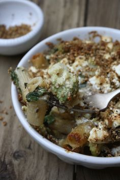 Romanesco Rigatoni Cheese Bake - this is part of my resolution...never ...