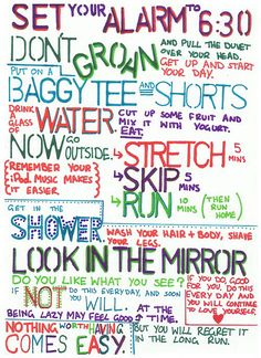 Get fit motivation