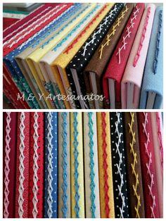 Encadernação artesanal: costuras simples para brochurinhas.