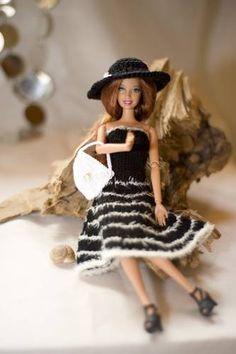 Galerie / Produkte :: GG Barbiebekleidung Shop, Gaby Gehring, Denzlingen, Barbie, Barbiepuppe, Barbie Kleidung, Onlineshop, Barbiekleid, Puppenkleid, Barbiepuppenbekleidung, stricken, häckeln, nähen, Wolle, Stoff, Modeschmuck, Knöpfe, Perlen, Geschenkband, Bast alles fürs Kind, Mädchen