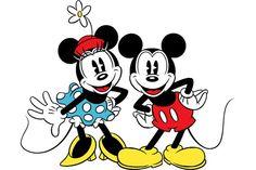 Minnie and Mickey❤️