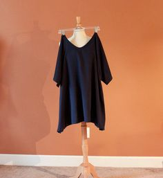 cotton simplicity kimono sleeve wavy top by annyschooecoclothing, $60.00
