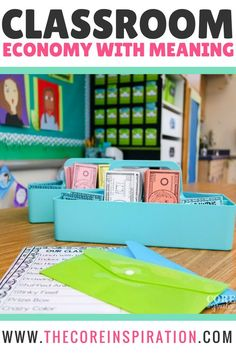 Tips for implementing a classroom economy system that helps students practice money management, focuses on job responsibilities, and rewards students in meaningful ways. No need for expensive prizes, complex systems, or high maintenance brag tags.