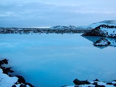 Just outside the Blue Lagoon, you wouldn't want to swim in there.