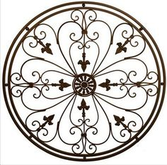 Round Wrought Iron Wall Decor Cool This Spectacular Wall Grille Will Inspire The Tuscan Decorator In 2017