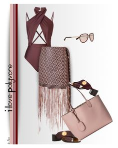 """""""I LOVE POLYVORE, Tricky Summer Trend"""" by deneve ❤ liked on Polyvore featuring Ginger & Smart, Gucci, Chloé, Nina Ricci, polyvoreeditorial and summer2016"""