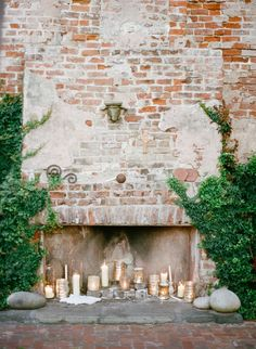 ceremony, decor, details | Perfect backdrop for the ceremony | Photography: Megan W Photography - megan-w.com  Read More: http://www.stylemepretty.com/2015/04/01/romantic-new-orleans-wedding-filled-with-old-world-charm/
