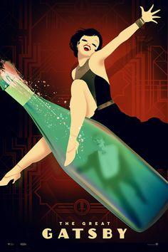 los pósters alternativos de el gran gatsby - filmin