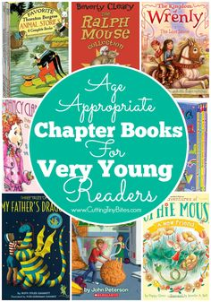 Cutting Tiny Bites: Age Appropriate Chapter Books for Very Young Readers